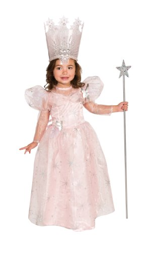 Wizard of Oz Glinda The Good Witch Costume, Toddler 1-2 (75th Anniversary (Glinda Wizard Of Oz Halloween Costume)