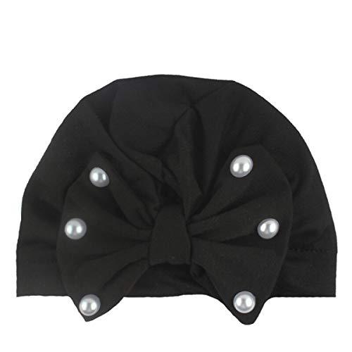 HOMZE Hat Cotton Kids Baby Cap for Girls Toddler Turban Hats Newborn Infant