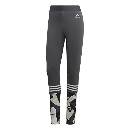 Sport All Over Tight Print Femme Adidas Id Grey zUwUO