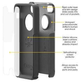OtterBox Commuter Series for iPhone 5c
