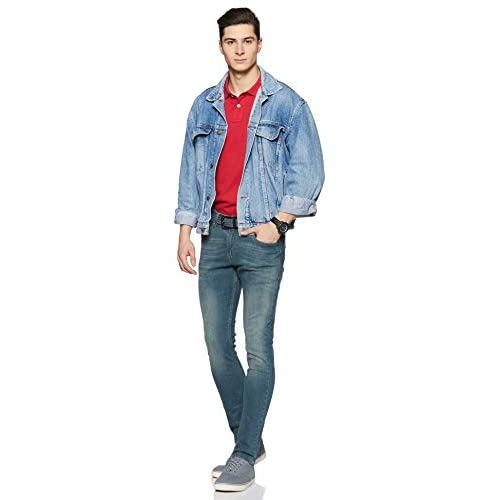 31xgMl660NL. SS500  - Amazon Brand - Symbol Men's Skinny Fit Jeans