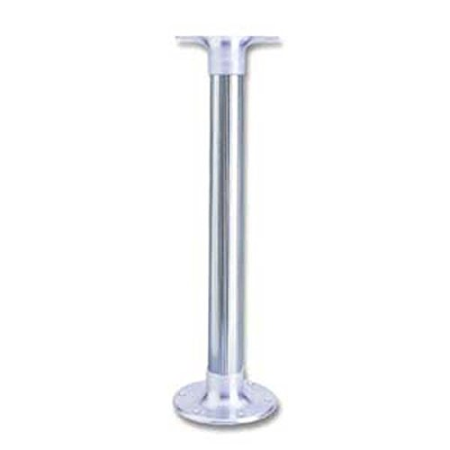 Garelick 75340:01 Table Pedestal for Smaller Boats - Flush Mount Base with Fluted Anodized ()