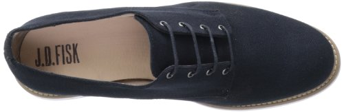 JD Fisk Men's Hardy Oxford Black Canvas clearance websites latest collections online latest cheap price S83yVndrd7