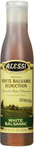 (Alessi Premium White Balsamic Reduction Vinegar, 8.5 ounce)
