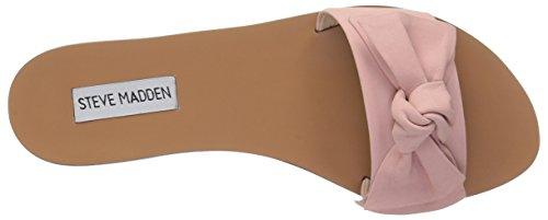5 Nubuck Para Plana Us Knotss Mujer Sandalia Pink M 6 wqf60nx