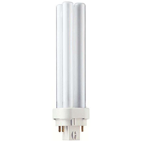 Philips 383331 - PL-C 18W/41/4P/ALTO Double Tube 4 Pin Base Compact Fluorescent Light Bulb Plug In Plc 4 Pin