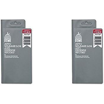 amazon com portage auto mileage log and expense notebook durable