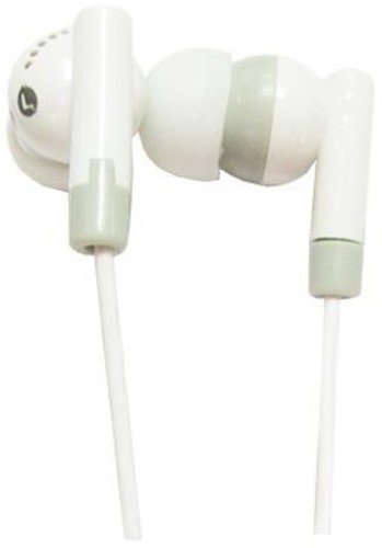Supersonic IQ101WH In-Ear Earbuds, White