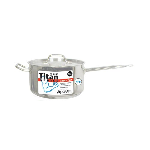 Adcraft SPS-10 Titan Series 10 Qt. S/S Induction Sauce Pan W