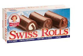 Little Debbie Swiss Rolls, 13 Ounces (1 Box)