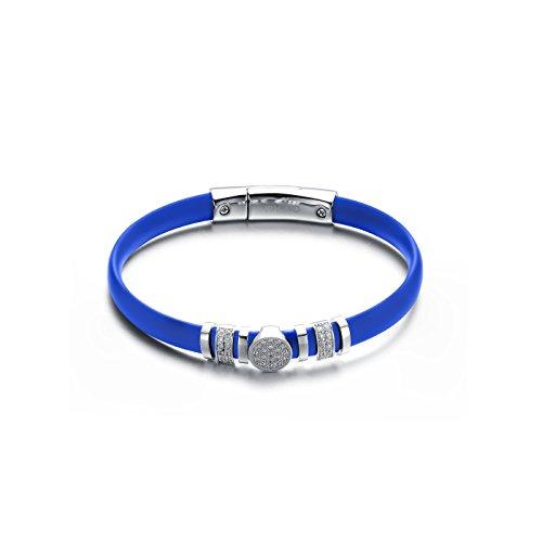 cz-sterling-silver-turquoise-blue-rubber-bracelet