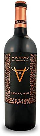 BODEGAS Y VIÑEDOS VOLVER | Vino Tinto Paso a Paso - Orgánico - | Cosecha 2019 | Variedad Tempranillo | Vino de la Tierra de Castilla | (1 Botella x 750 ml)