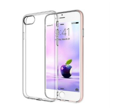 iPhone 7 Plus Case, Shamo's [Crystal Clear] Case [Shock Absorption] Cover TPU Rubber Gel [Anti Scratch] Transparent Clear Back Case, Soft Silicone, Lip Protection Impact Resistant from Shamo's