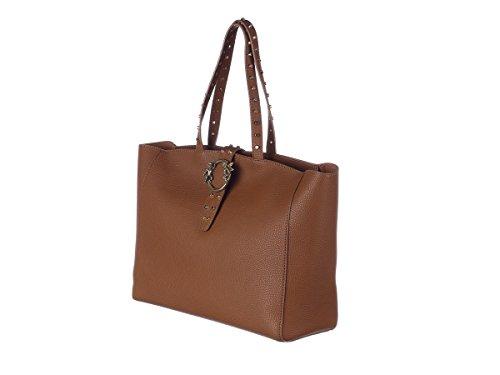 ERMANNO SCERVINO Borsa Shopping New Bea Donna 12400421 ES157 CUOIO Primavera Estate 2018