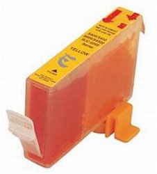 (Ink Now Premium Compatible Canon Yellow Ink Jet BCI-5, 6Y, BCI-3eY for BJC 8200, 6000 printers)