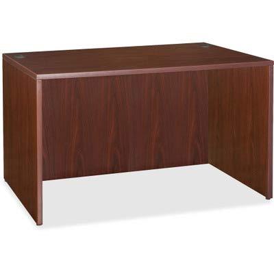 Lorell LLR69375 69000 Series Desk, Mahogany
