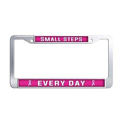 Amazon Framespolish Breast Cancer Quotes Inspirational Car Tag Inspiration Breast Cancer Quotes