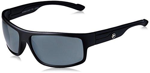Forecast Optics Marcus Sunglass, Matte Black, Silver Mirror - Sunglasses Marcus