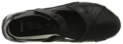 camel active Moonlight 71 - Ballerine Donna, Nero (Black 05), 39 EU