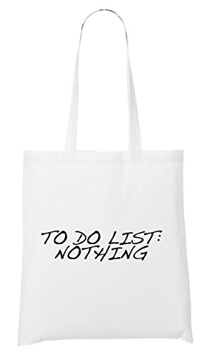 To Do List: Nothing Bag White
