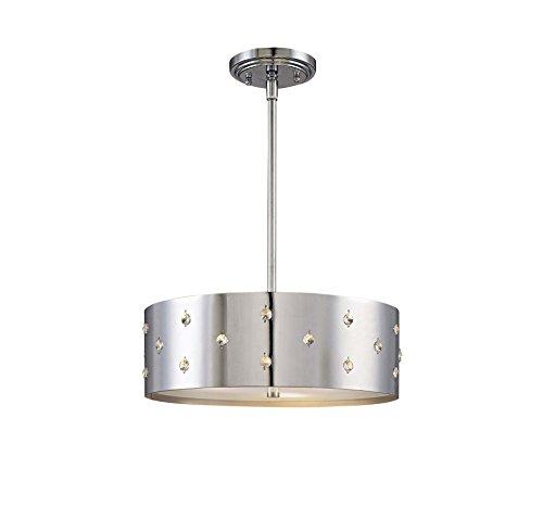 George Kovacs Chrome Floor Lamp - George Kovacs P033-077 Bling Bling Pendant in Chrome