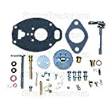 Comprehensive (Premium) carburetor repair kit for IH/Farmall models using TSX934, TSX943, TSX959, TSX984SL and TSX985SL