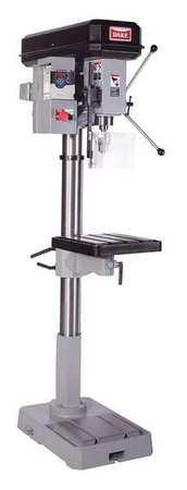 Floor Drill Press, Belt, 18'', 2 HP, 120V by Dake