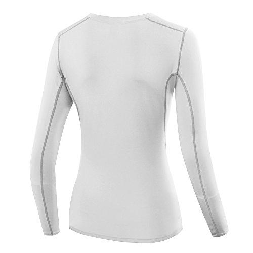 ESHOO - Camisa deportiva - para mujer blanco