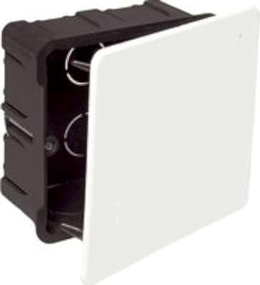 Solera serie metalbox - Caja empalme para tabique hueco 100x100x45 garra: Amazon.es: Bricolaje y herramientas