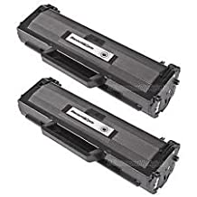 TONER4U ® 2PK Samsung MLT-D104S Black Compatible Toner Cartridge for Samsung ML-1660 Series, Samsung ML-1661K, Samsung ML-1665 Series, Samsung ML-1666, Samsung ML-1670, Samsung ML-1675, Samsung ML-1865 Series, Samsung SCX-3200 Series, Samsung SCX-3205 Series