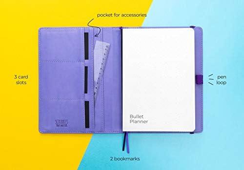 A5 Dotted Journal Insert by Scribbles That Matter Punteado - 100GSM Combina con las mangas de colores de tu elecci/ón Crea tu propio bujo /único Organizador de vida