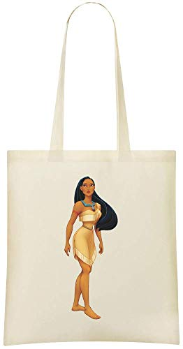 Cotton Handbag Disney Grocery Eco Custom Tote Shoulder Custom Everyday For Friendly Bags Use Pocahontas Bag Stylish amp; Printed 100 Soft Od8zWtq1