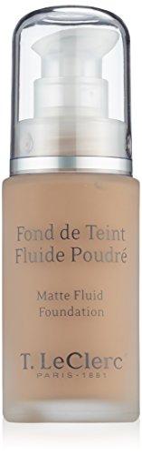 T LECLERC TEINT Fond de Teint Fluide Poudr SPF15 05 Beige Ambre Mat (30ml)