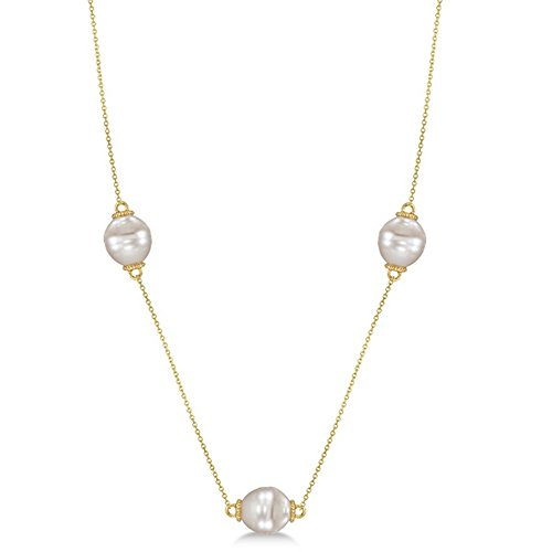 paspaley-south-sea-cultured-pearl-station-necklace-granulated-14k-yellow-gold-11mm