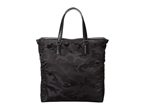 Michael Kors Mens Kent Large Black Camouflage Nylon - Bag Kors For Men Michael