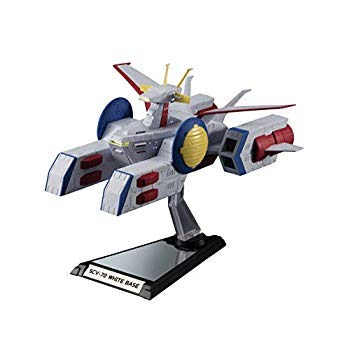 BANDAI SPIRITS(バンダイ スピリッツ) Kikai Taizen Mobile Suit Gundam, 1/1700 Scale Pegasus Class Amphibious Assault Ship No.2, White Base, Approx. (155 mm), ABS Pre-Painted Action Figure