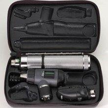 Standard Otoscope Set - Welch Allyn 97170 3.5v Diagnostic Set with Standard Ophthalmoscope, Operating Otoscope, Rechargeable Handle, and Hard Case