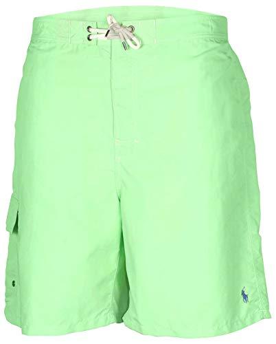 Polo Ralph Lauren Men's Big & Tall Kailua Swim Trunks-Green-2XB