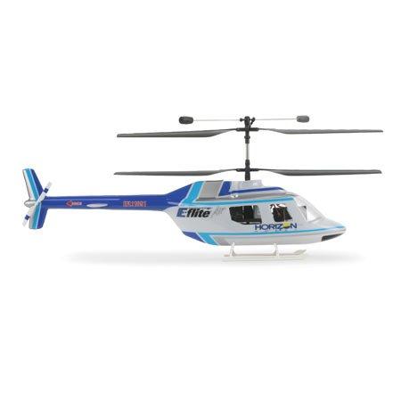 Jet Blue Landing Gear - Jet Ranger Body Set, Blue/Silver: BCX/2