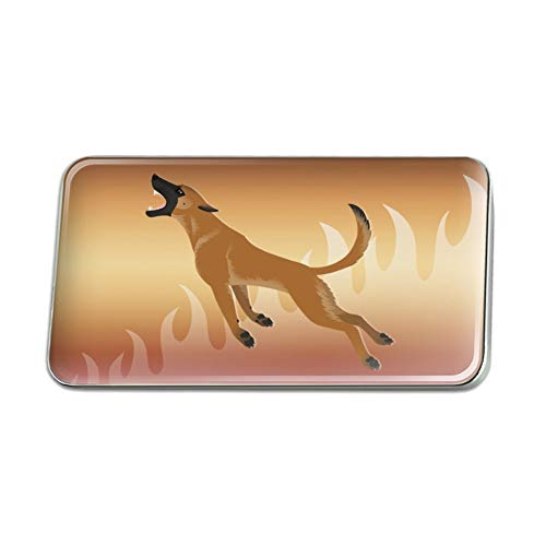 GRAPHICS & MORE Belgian Malinois Dog Bite Training Rectangle Lapel Hat Pin Tie Tack Pinback