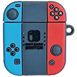 AirPods Case Soft Silicone Shockproof Cover for Apple Airpods 2 1,Nintendo Switch Pokemon Go Pikachu 3D Cartoon Unique…