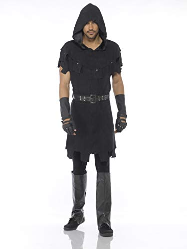 Executioner Costume Men, Hooded Medieval Punisher, Halloween