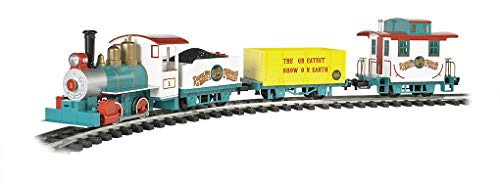 Bachmann Trains - Ringling Bros. and Barnum & Bailey - LI'L Big Top Ready to Run Electric Train Set - Large G Scale