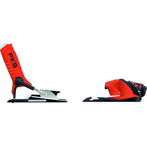 Rossignol FKS 140 Dual WTR Ski Bindings Fluorescent Orange 95