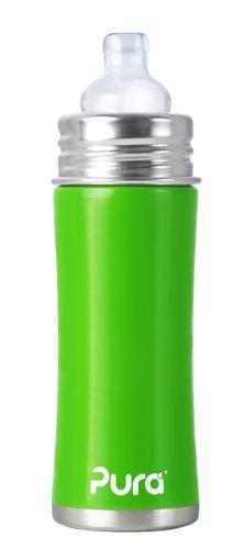 Amazon.com: Pura Kiki – Biberón de Sippy inoxidable botella ...