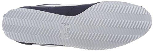 Nike Nylon Sneakers White Top Cortez Blue Obsidian Low Men's Classic rn6fxprO