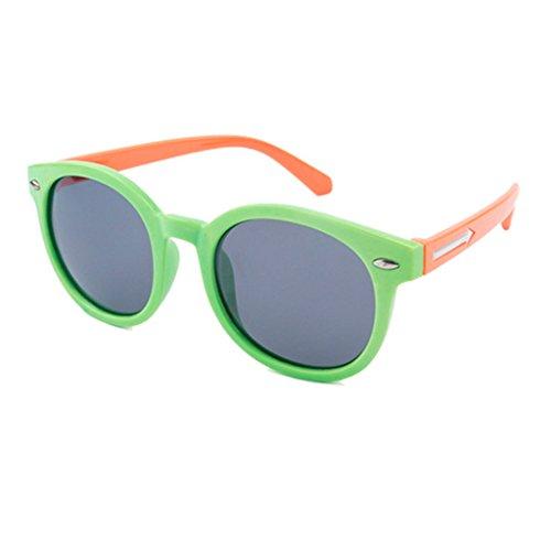 Arrow Clásicas Gafas Style Sol Black UV400 Sol Lens Shades de Pink Green de Gafas Color Childrens Unisex Gafas CUPtqt