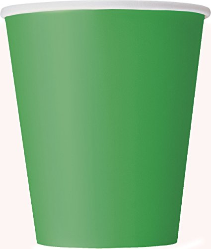 9oz Green Paper Cups 14ct