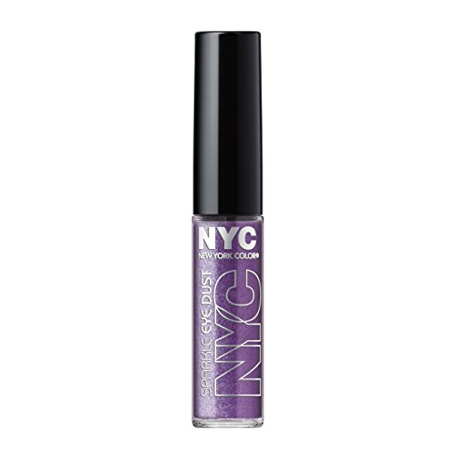 N.Y.C. New York Color Sparkle Eye Dust, Amethyst Dazzle, 0.105 Ounce
