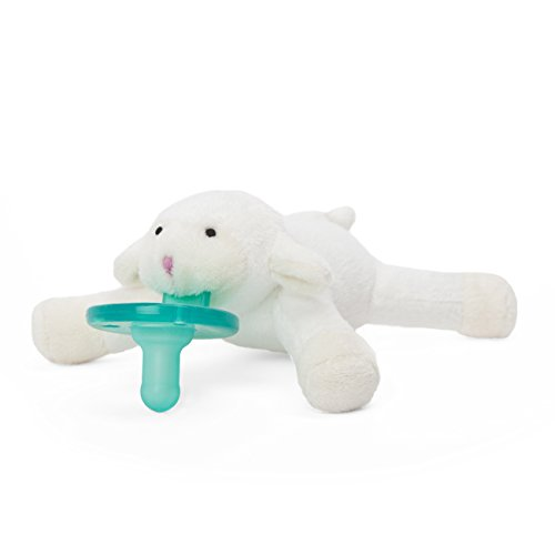 WubbaNub Lamb Infant Pacifier - Avent Soothie Pacifers